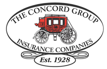 the concord group insurance companies logo graphic est. 1928