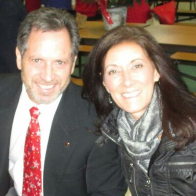 photo of man and woman Ken and Suzanne Walsh