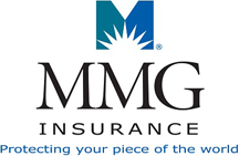 mmg insurance logo graphic protecting your piece of the world