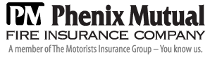 phenix mutual fire insurance company logo graphic a member of the motorists insurance group you know us