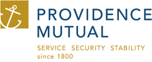 providence mutual graphic logo service security stability since 1800